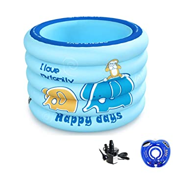 JTYX Piscina Inflable para bebés Hogar para niños de 1 a 3 ...