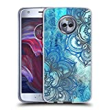 Official Micklyn Le Feuvre Lost in Blue A Daydream Made Visible Mandala 3 Soft Gel Case Compatible for Motorola Moto X4