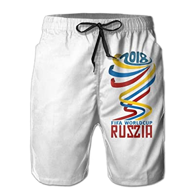 Padada 2018 FIFA-World-Cup-Soccer Russia Mens Shorts Loose Summer Swimming Trunks Running Swimming and Surfing