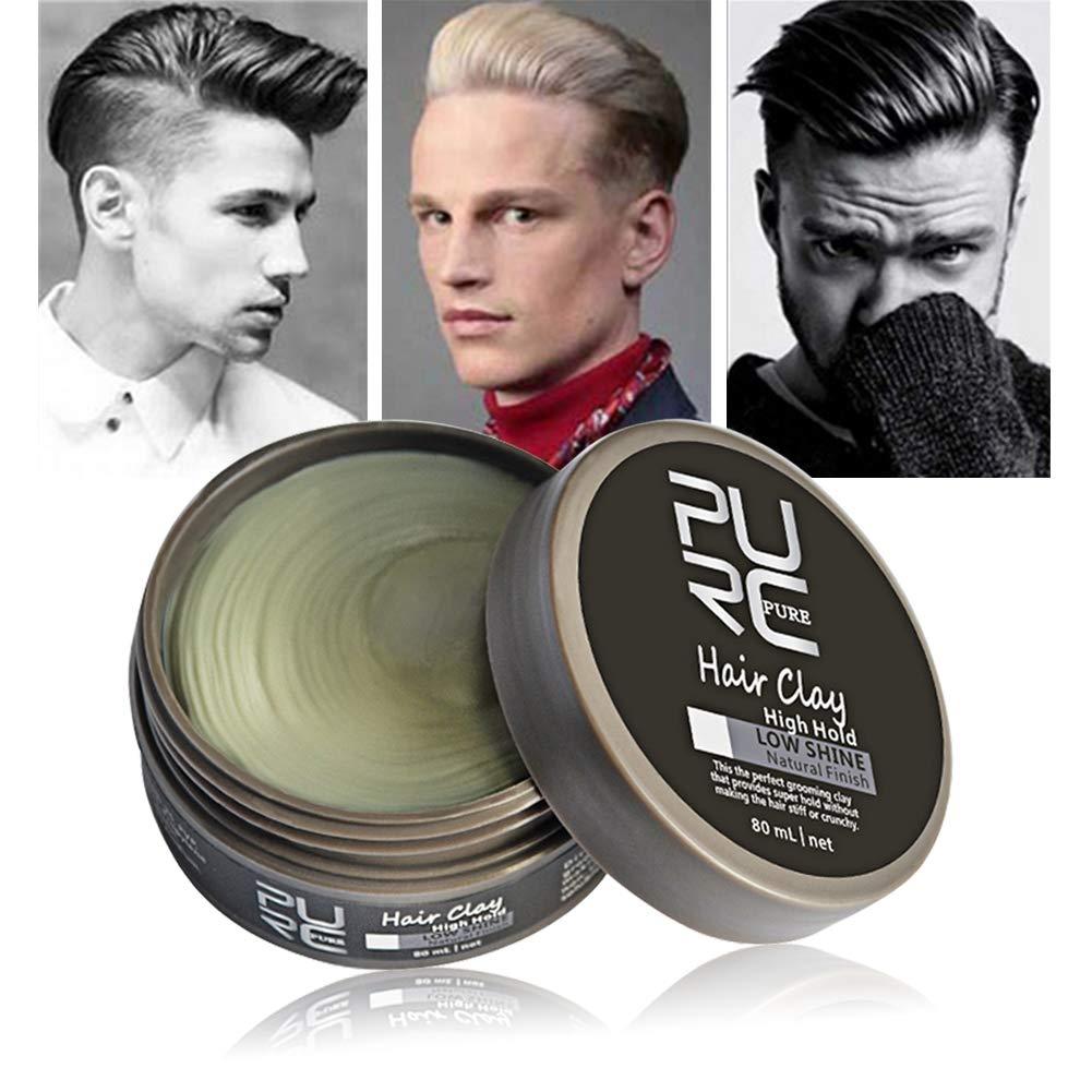 Haar-Lehm-Haar-Styling-Wachs, Symeas Hohe Halte-niedriger Glanz-Haar-Lehm Für das Haar-Styling der Männer