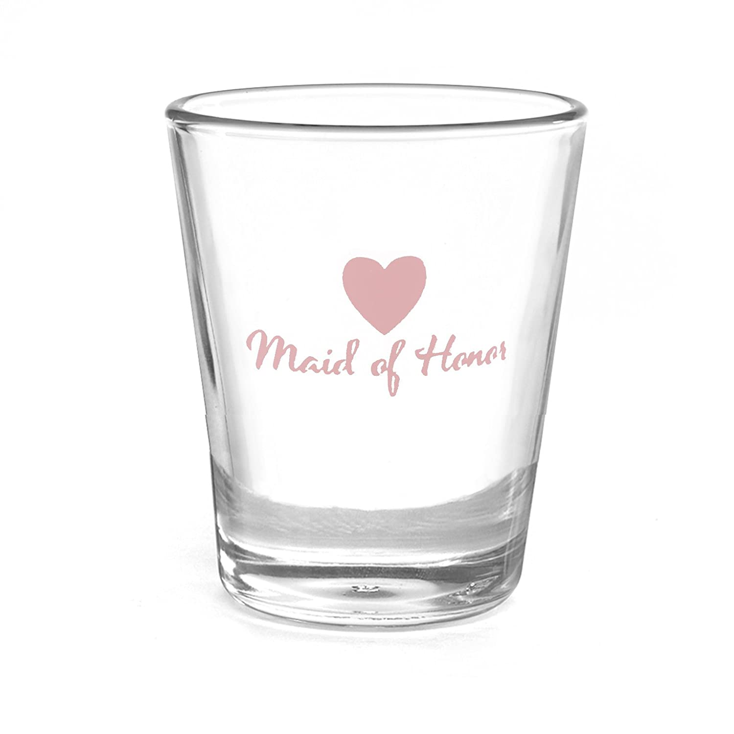 Hortense B. Hewitt Bow Tie Wedding Party Best Man Shot Glass 38860