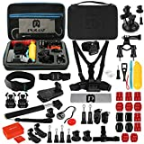 53 in 1 Accessories Kit for Gopro Hero6 Black, HERO5 Black, HERO5 Session, Hero Session, HERO4 Session, HERO3+, HERO3, HERO2, HERO by Coerni