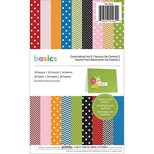 - Pebbles 751432 Basics Cardmaking Pad 2