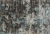 Loloi Rugs Kingston Collection KGSTKT-02CCBB7AAA Area Rug, 7' 10'' x 10' 10'', Charcoal/Blue