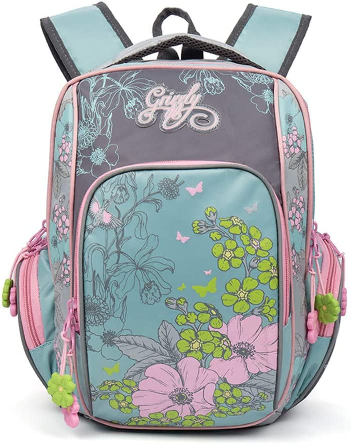 Kids Cartoon Orthopedic Waterproof Children Girls Primary School Backpacks Bags