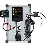 BatteryMINDer Solar Battery Charger/Trickle Charger/Desulfator - 12 Volt, 1.25 Amp, Includes 15 Watt Solar Panel, Model Number SCC-015