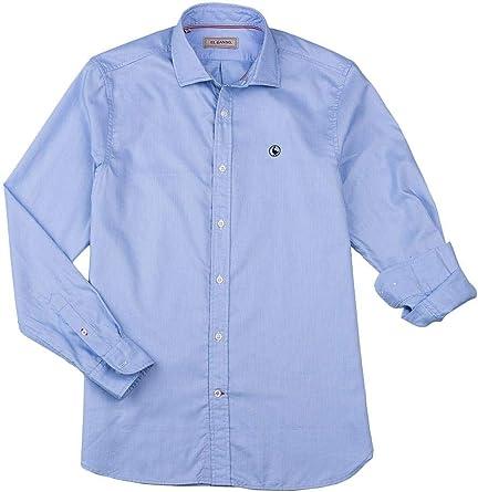 El Ganso 1050s200059 Camisa Casual, Azul (Azul 0059), Medium ...