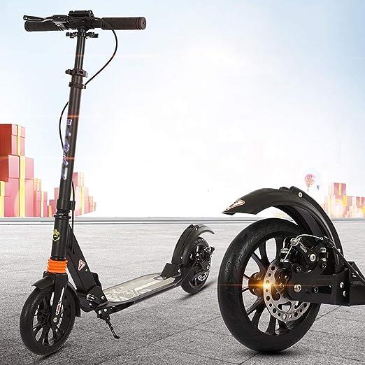 Scooter Patinete Negro no eléctrico para Adultos y ...