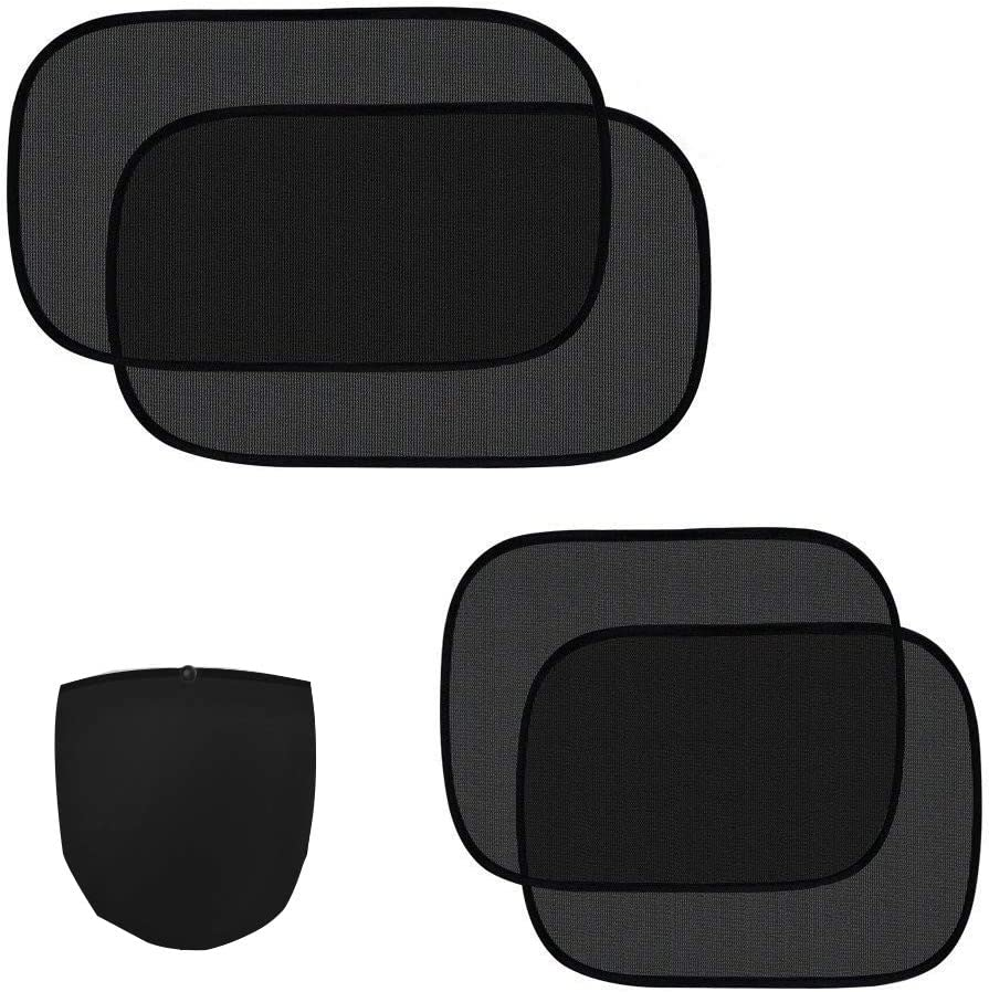 4 Pack Car Side Windows Sunshade for Baby,Car Sun Shades Protector,80 GSM for Maximum UV//Sun//Glare Protection for Kids,2 Pack 20x12 and 2 Pack 17x14 ZATAYE Car Window Shade