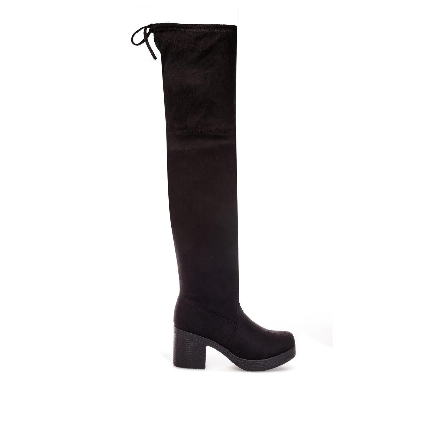 e6e3467c461 Truffle Collection Womens Womens Block Heel Over The Knee Boots in ...