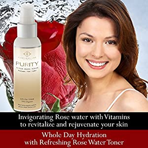 NEW Witch Hazel Rose Scented Primer & Toner to Perfect & Clear Acne-Prone Skin & Tighten Pores with this Alcohol-Free Astringent, Hydrating and Calming Face Treatment. Travel Size