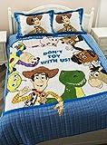 Norson Toystory Quilt Set Kids Bedding Woody Bedding Set Reversible Bedspread Set 2 Pcs