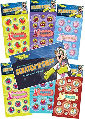 Dr. Stinky's Scratch N Sniff Stickers 6-pack and