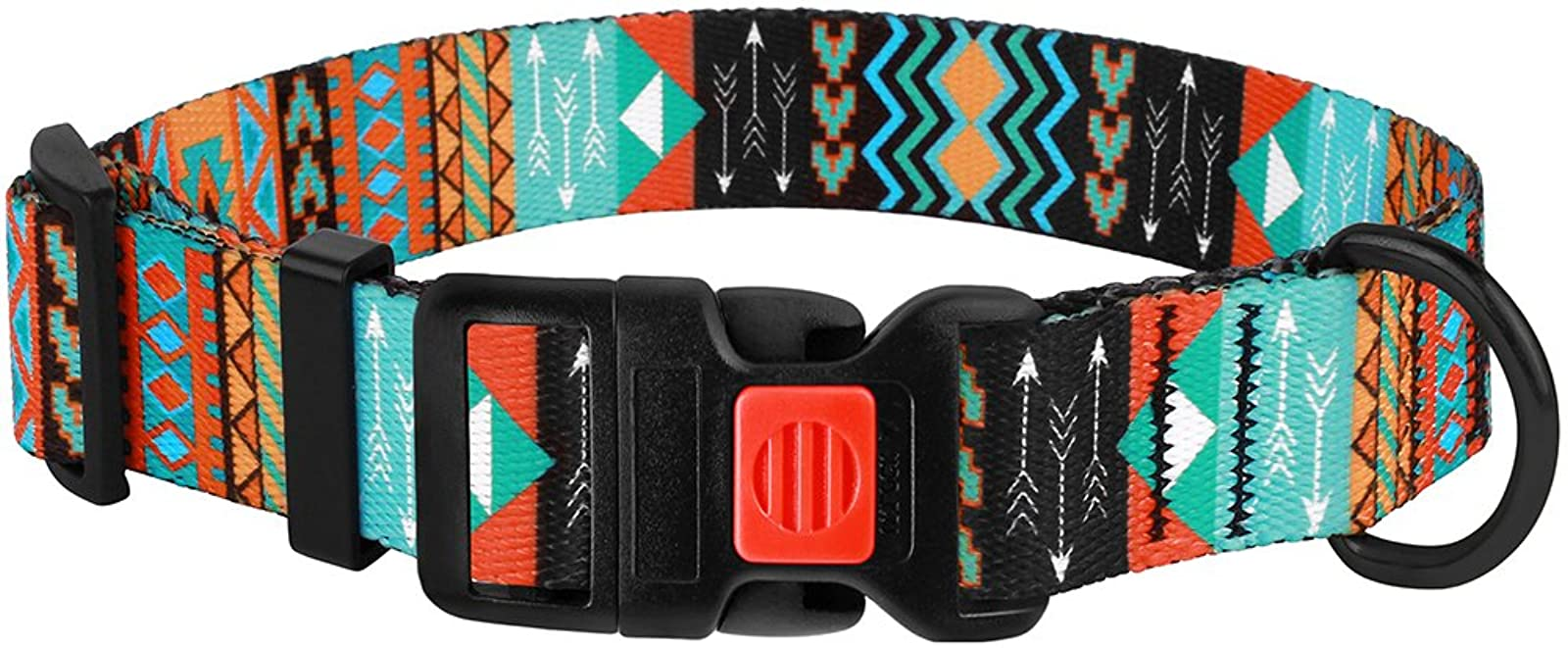 CollarDirect Nylon Dog Collar with Buckle Tribal - 3
