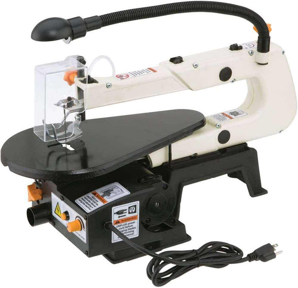 Shop Fox W1713 Scroll Saw- Best Saw for Cutting Shapes Out Of Wood