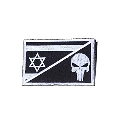 Home & Garden Embroidered Israel Flag Badge Tactical 3d Badges Combat Badge Fabric National Flags Armband Badges