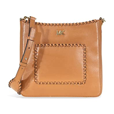 514ef0f9bf5a Michael Kors Gloria Ladies Whipstitched Leather Messenger 30F8GG0M2O203