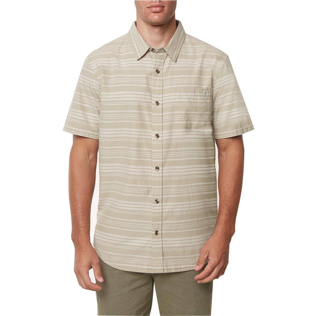 O'Neill Men's Jack Line Up Shirts X-Large Khaki SU8704208-KHA-XL