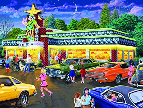 Star Diner 500 Piece Jigsaw Puzzle by SunsOut