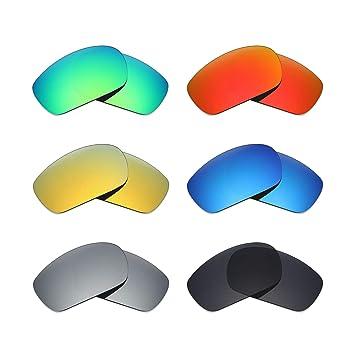 MRY 6 pares polarizadas gafas de sol lentes de repuesto para ...