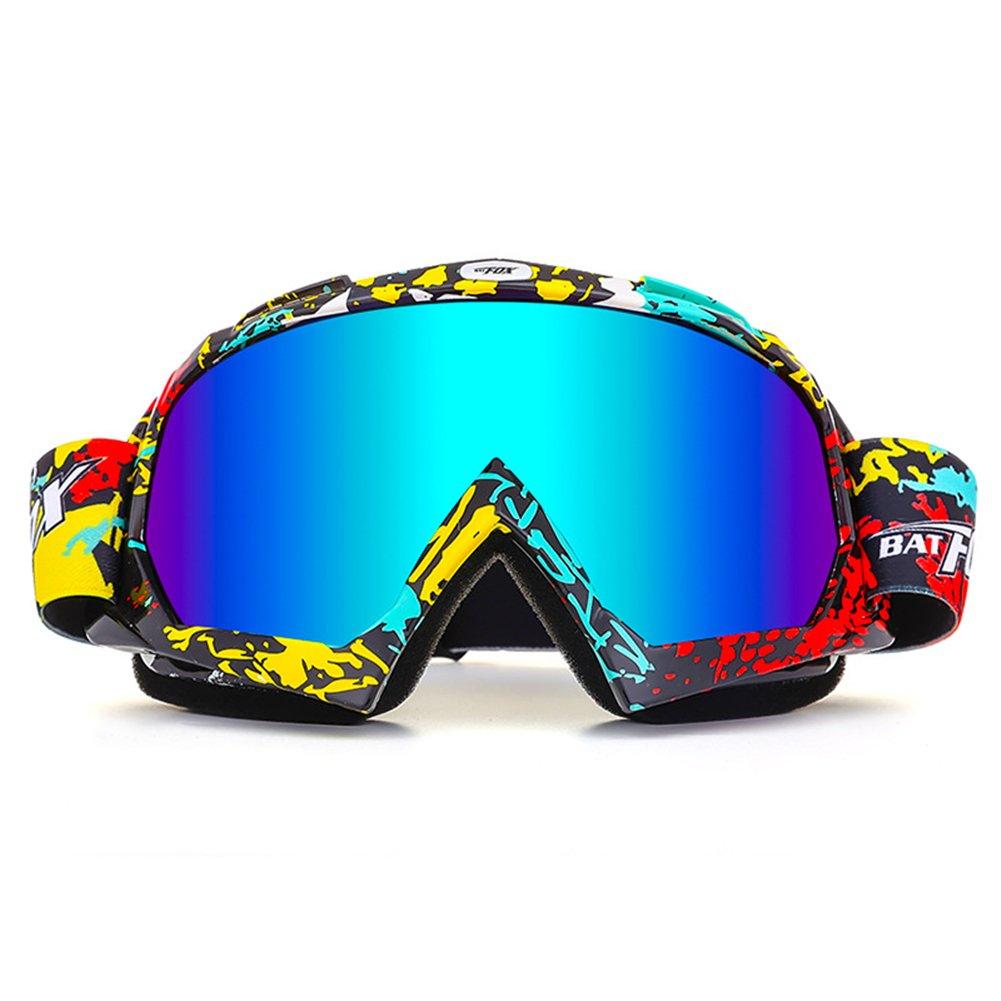 para la nieve deportes de invierno Gafas IHRKleid para moto gafas de snowboard gafas protectoras protecci/ón frente al viento y el polvo