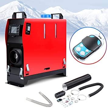 12V 8KW All In One Diesel Air Heater Metal W//Remote for Trucks Boat Car RV