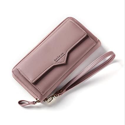 1578a154c00 Image Unavailable. Image not available for. Color: Women's Wallet Purses  Credit Card Holder - Lady Leather Long Wallet Purse Clutch ...