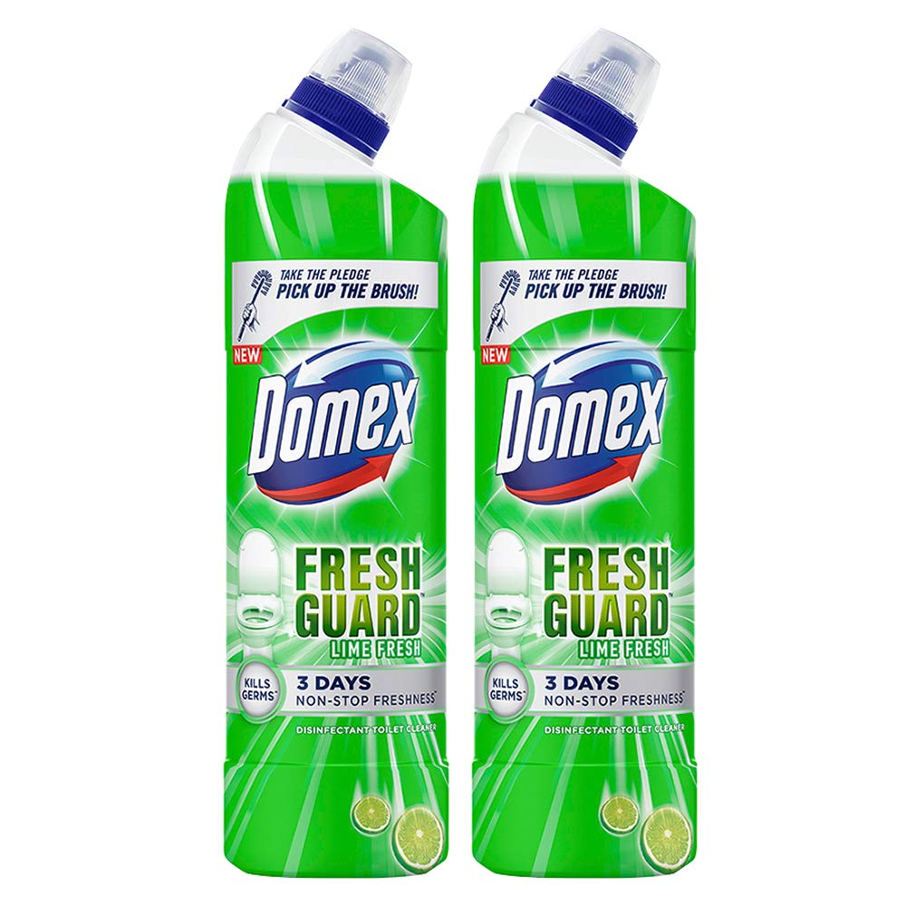Domex Disinfectant Toilet Cleaner, 750 ml (Pack of 2)