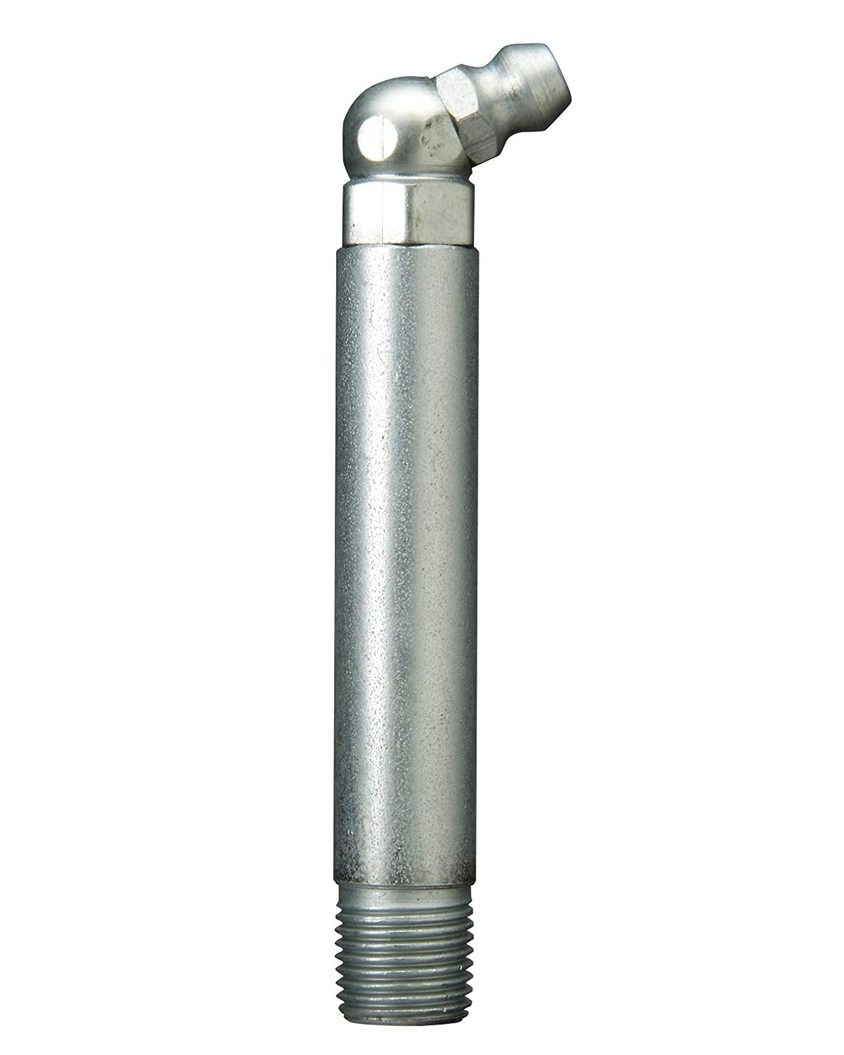 Alemite 1649-B Hydraulic Loose Fitting, 65 Degree Type, OAL 2-3/4', Shank Length 2-1/4', Hex Size 3/8', 1/8' PTF OAL 2-3/4 Shank Length 2-1/4 Hex Size 3/8 1/8 PTF