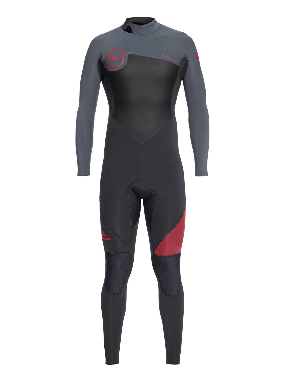 Quiksilver Mens 3/2Mm Syncro Series - Back Zip GBS Wetsuit Back Zip GBS Wetsuit EQYW103029-GGP0-M-A