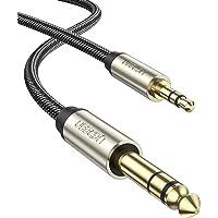 UGREEN Aux Kabel 3.5mm naar 6.35mm Audio Kabel 3.5 Male to 6.35 Male Nylon Jack Kabel Stereo Jack Kabel Compatibel met…