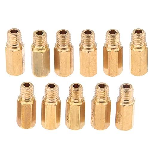 H HILABEE 20x Vergaser D/üsen Hauptd/üsen D/üsenset f/ür Keihin PWK CVK OKO M6 x 0,75 mm M5 x 0,8mm