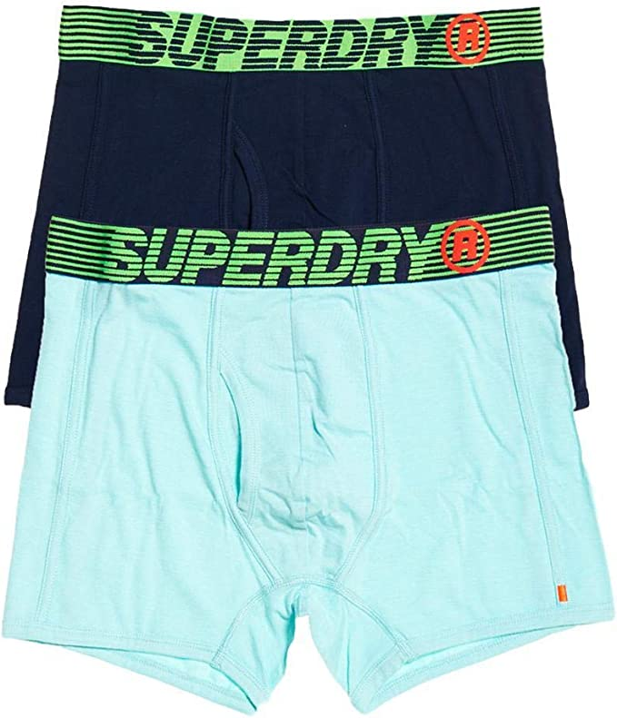 Superdry Speed Sport Boxer Double Pack Hombre: Amazon.es: Ropa y ...
