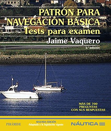 Patrón para navegación básica: Tests para examen (Náutica) por Jaime Vaquero