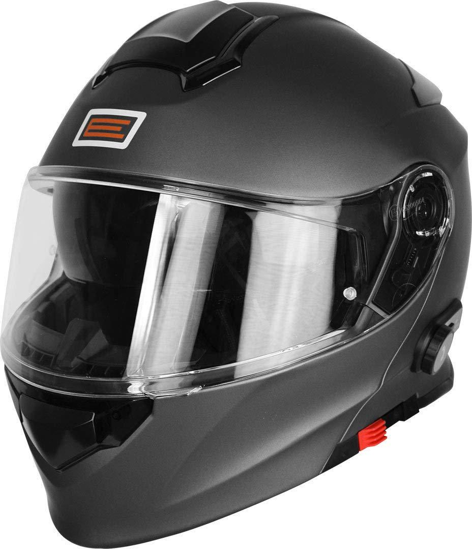 Origine Helmets 204271723600002 Delta Solid Matt Casco Apribile con Bluetooth Integrato XS Titanio