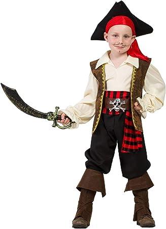 Disfraz Capitan Pirata (3-4 AÑOS): Amazon.es: Juguetes y juegos
