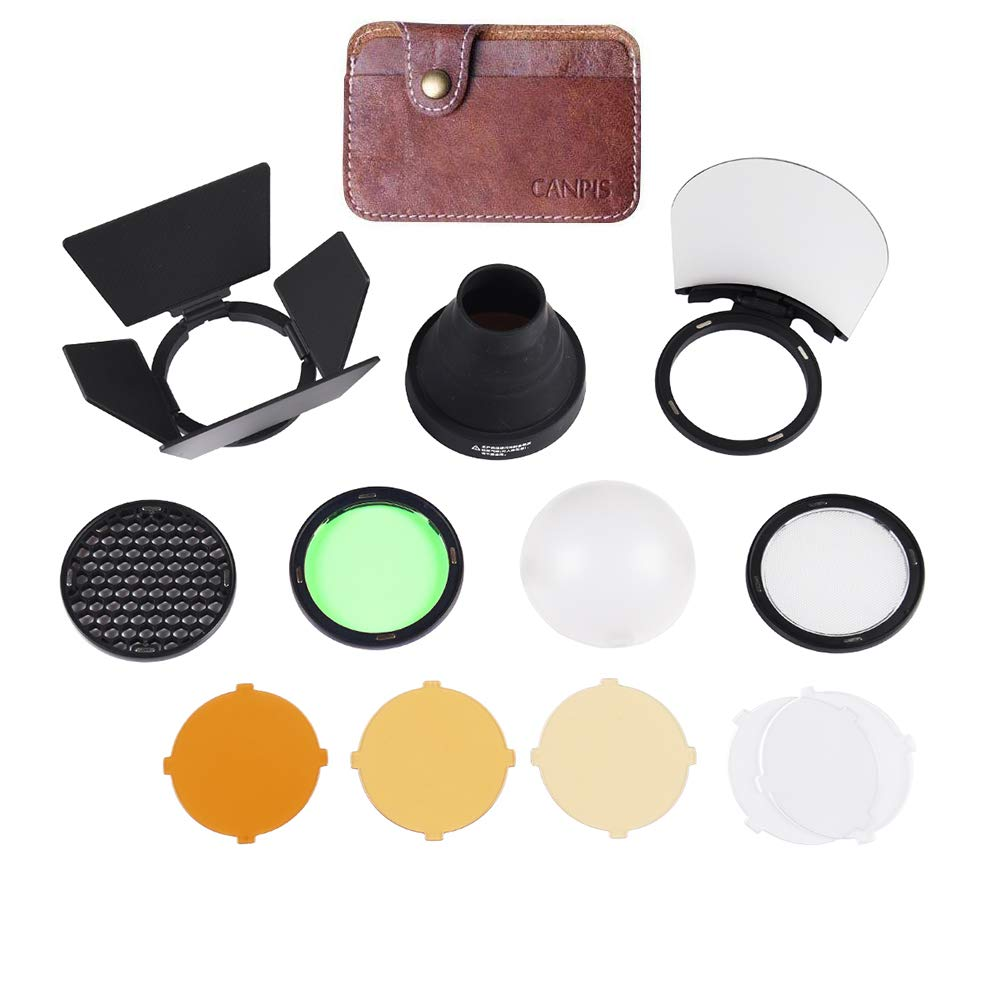Godox AD200 Accessories, AK-R1 Accessories Kit for Godox H200R Round Flash Head