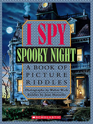 I Spy Spooky Night: A Book of Picture Riddles -
