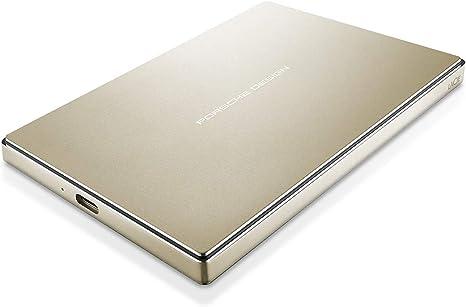 LaCie Porsche Design - Disco Duro para Mac y PC, 2 TB (USB-C + USB ...