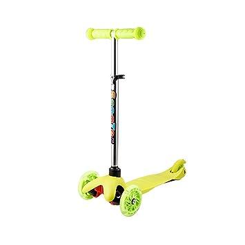 BUSYALL Mini Scooter Patinetes para Niños Niñas 3+ Años con ...
