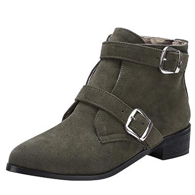 Imitation Femme en pour CuirWorker Boots HULKY Bottines HWEIYD29