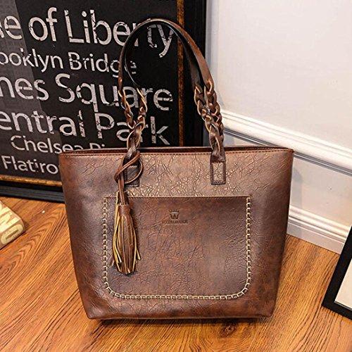 Leather Shoulder Lmmvp Bags Women Backpack Ladies Bag Backpacks The Tassels Bag Casual C Women UXE1qXP