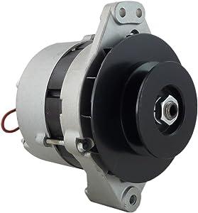 New Alternator for Compac/Dynapac Compactors W/John Deere 3029 Engines 1995-2007 Ingersol Rand 185 JD, John Deere Equip 443-113-515-762 443-113-515-765 90-36-9502N A-6331 20110293 9-515-765