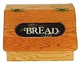 Oak Flip Top Bread Box - Amish Made in USA