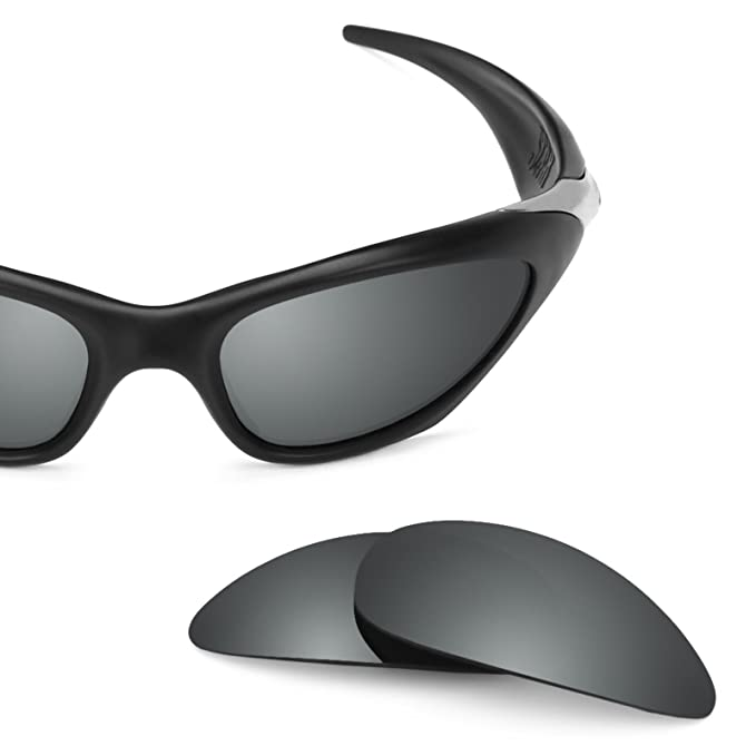 db2f3a82f39 Revant Polarized Replacement Lenses for Oakley Twenty XX (2012) Black  Chrome MirrorShield®