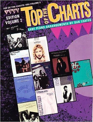 top of the charts easy piano arrangements by dan coates vol 2