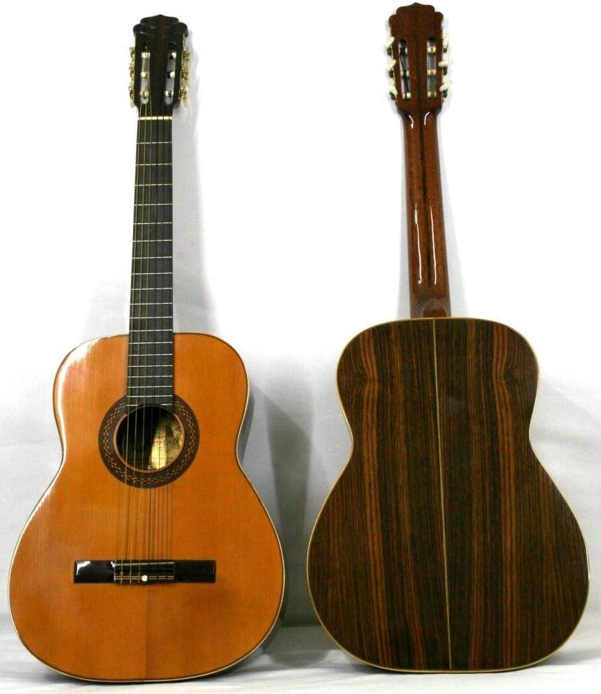 Musikalia luthery Vintage Classic Guitar Melody modelo, en palisandro, filetes en la caja de resonancia y rico mosaico en la resonancia–fabricado entre 1970y 1990