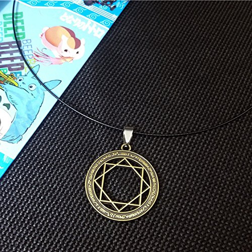 Magic Flute hollow bronze necklace pendant logo animation around jewelry gifts for children