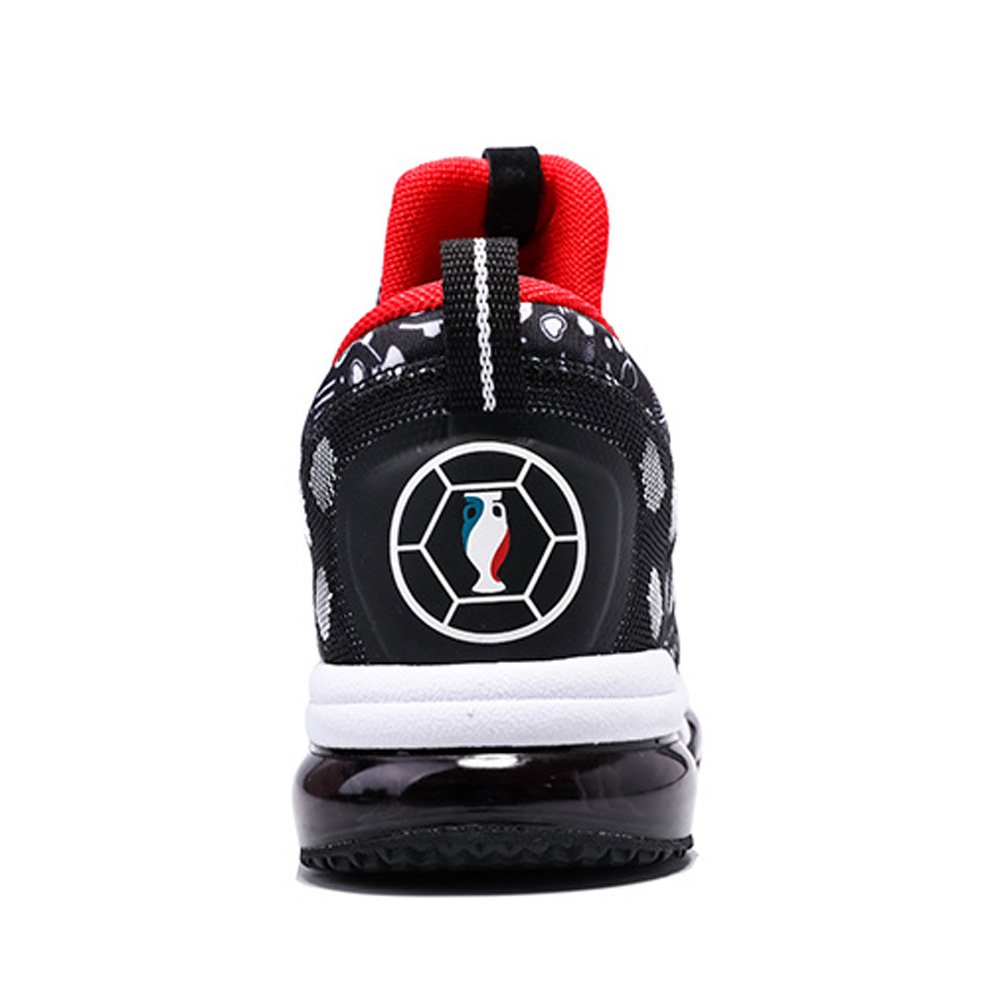 ONEMIX Mens Mesh Sneakers Air Cushion Running Walking Traling Shoes Black White Red Size 7.0 US by ONEMIX (Image #4)