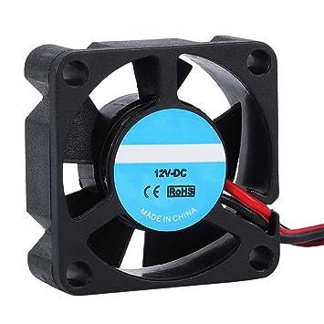 Ventilador de Impresora 3D, 2PCS Ventilador DE Caso de bajo Ruido ...